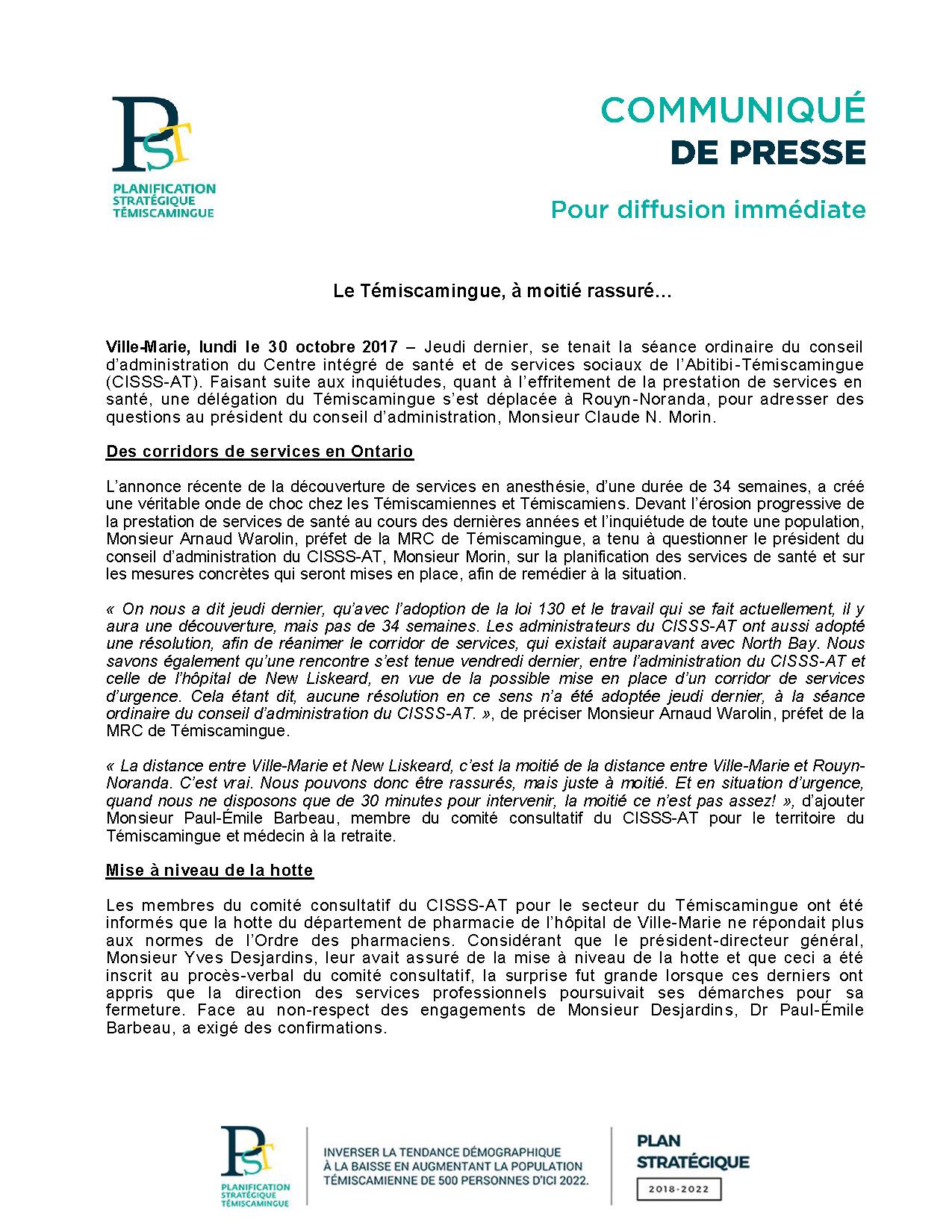 2017-10-30 - Communiqué PST - Le Témiscamingue à moitié rassuré_Page_1